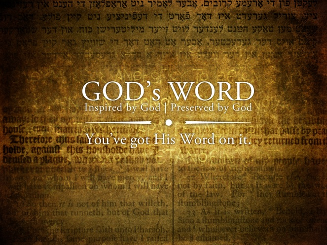 GODS WORD (wallpaper)